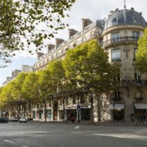 Boulevard Haussmann, Champs Elysées et rue Lincoln à Paris le 30 septembre 2017 pour Hausmmann Executive Search
